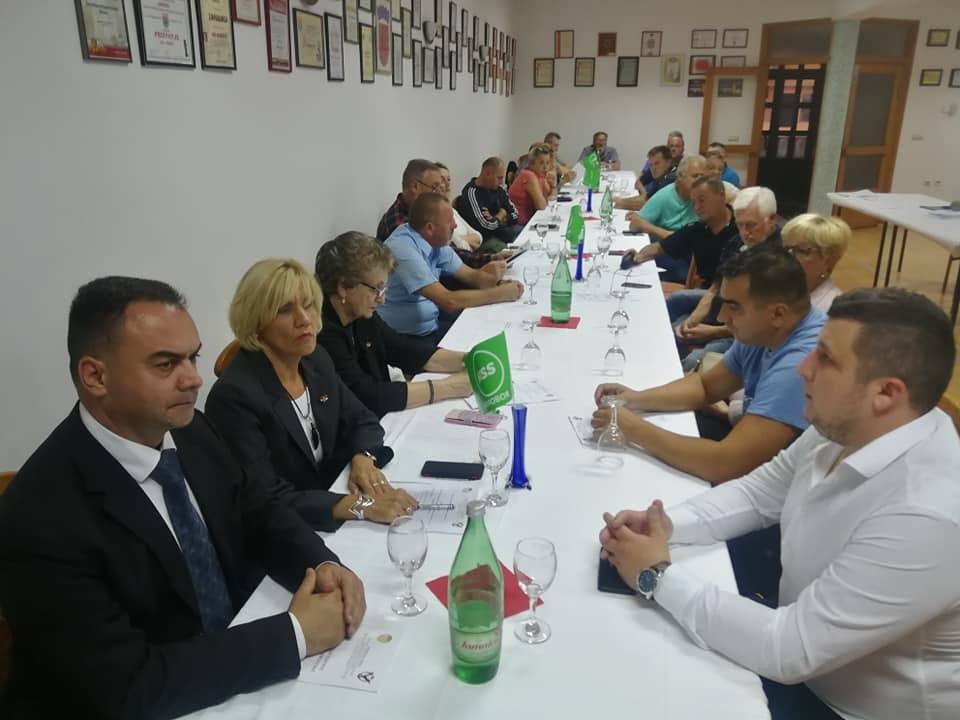 Održana je Skupština Hrvatskog sokola - Samobor